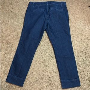 Ann Taylor Party Supplies - Ann Taylor Loft Women Modern Crop Jeans Size 8
